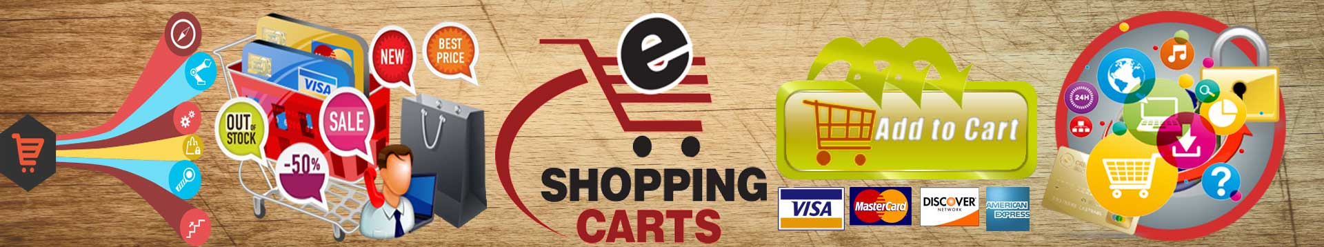 Shopping Cart Banners Laugh Banners